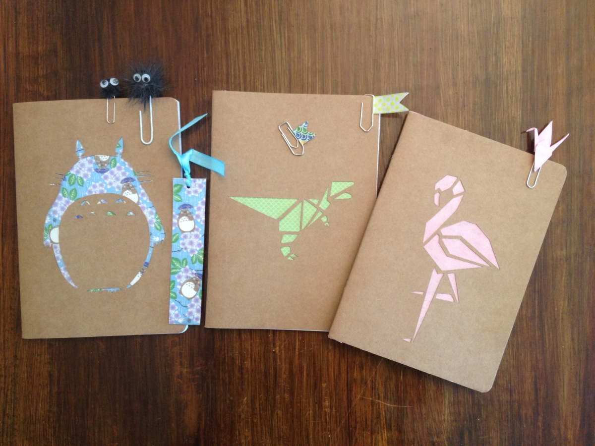 BACK TO SCHOOL: DIY Cahier Origami